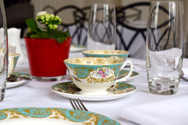 Breakfast China at The Orangery, Kensington Palace | www.rachelphipps.com @rachelphipps