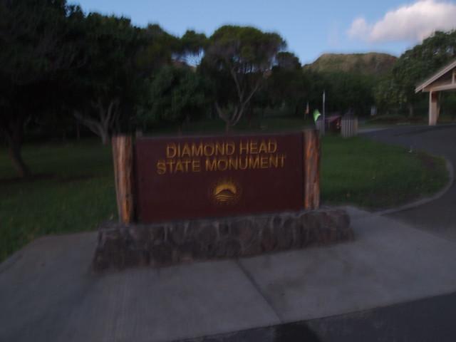 PB300676 ダイヤモンドヘッド(Diamond Head State Monument) hawaii ハワイ ひめごと ヒメゴト