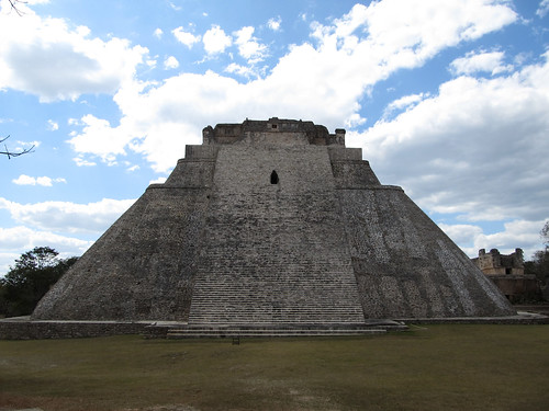 Uxmal: la Pyramide du Magicien