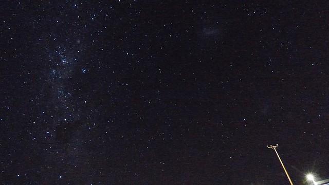 Voie lactée et nuages de magellan
