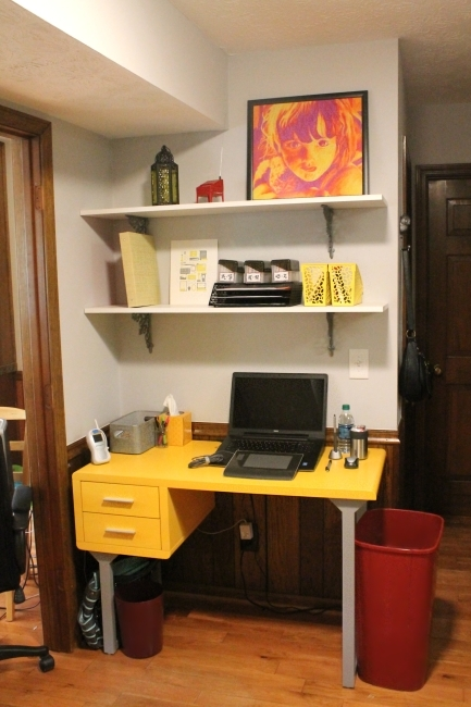 Office area makeover