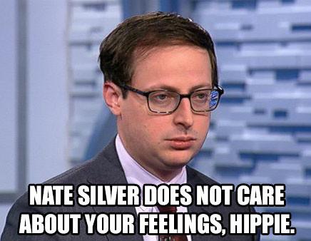 nate silver hippie