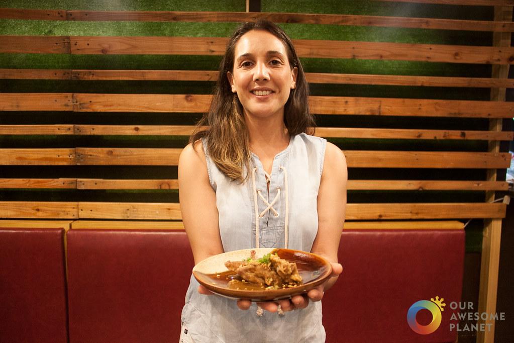Chef Lea Cohen's Popular Quail Adobo Recipe @MadridFusionMNL @ChefLeahCohen