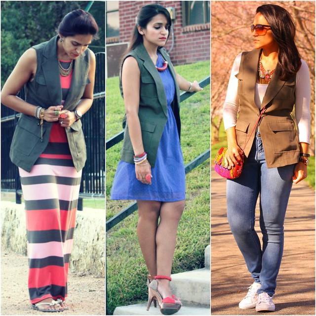 04_Three Ways To Style A Sleeveless Vest Tanvii.com