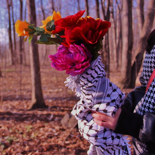 Kuffiyah & Roses