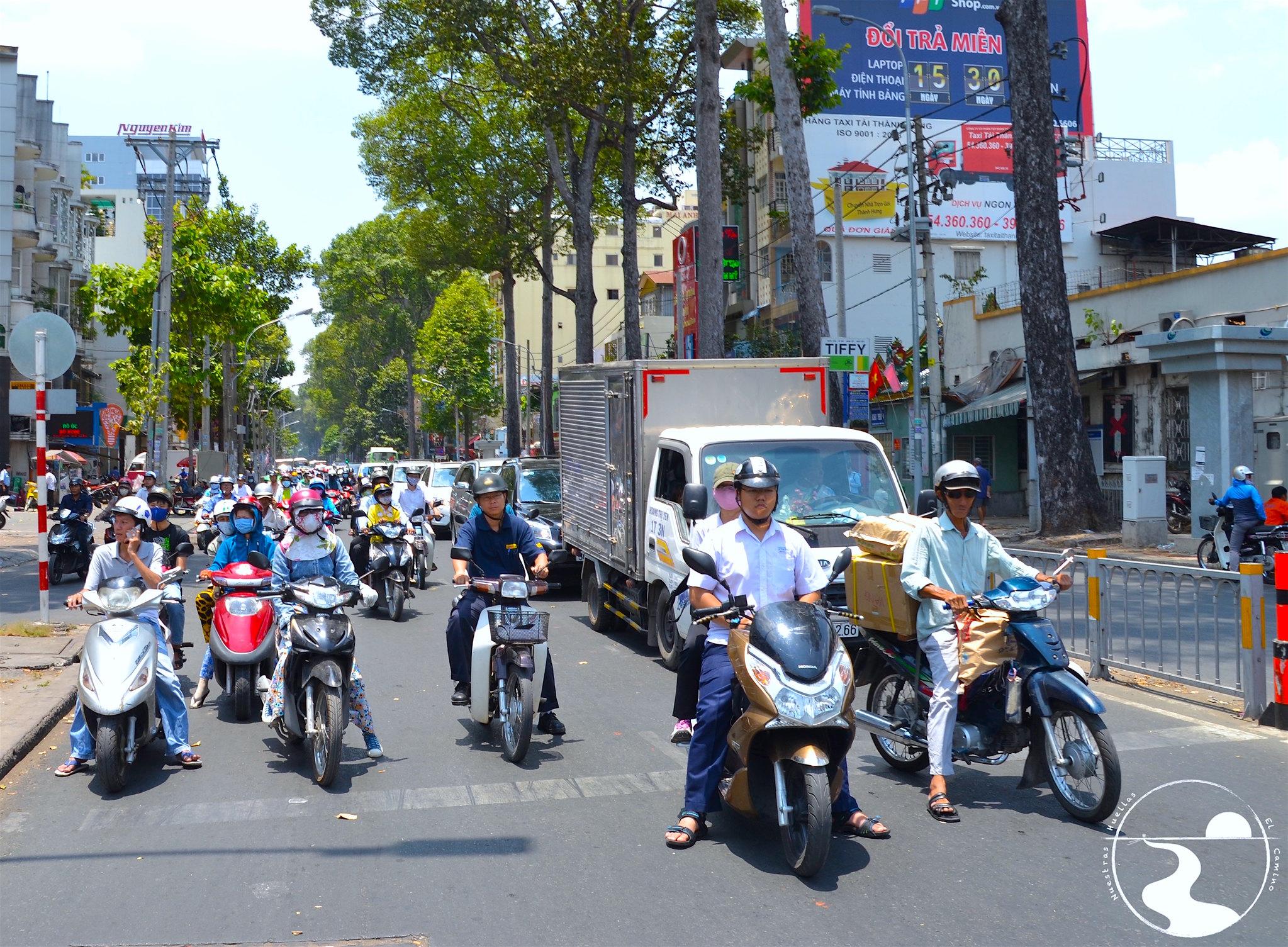 Trafico de Saigon