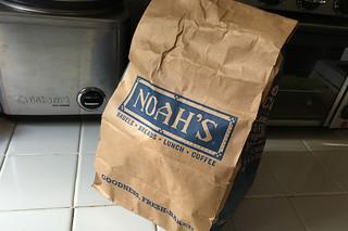 Philz Coffee - Tantalizing Turkey Noahs Bagels bag