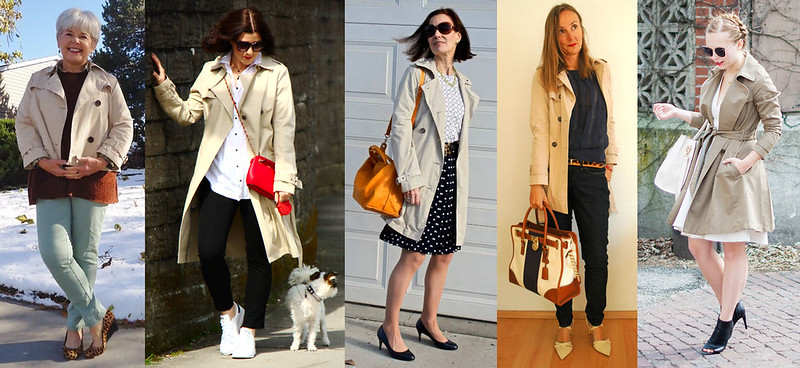 Fashion bloggers in trench coats #iwillwearwhatilike