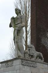 Amsterdam, Van Heutszmonument, detail