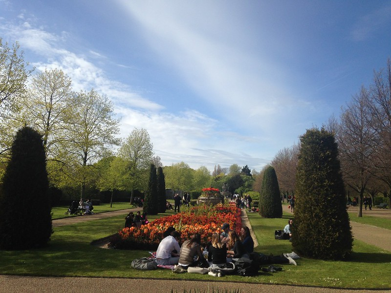 Regents Park on day one