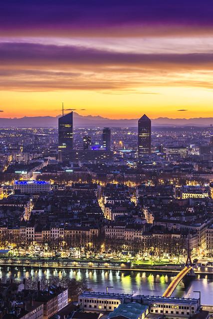 Lyon, sunrise, 29-12