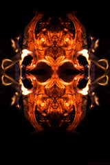 Pareidolia - Fire Demon - Five