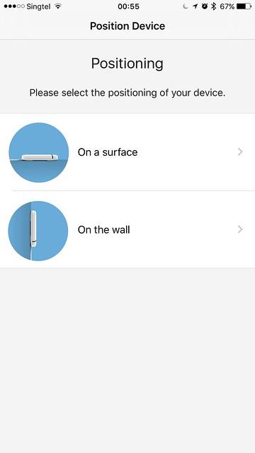 tado iOS App - tado Position