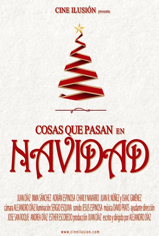 """cortometraje """"Cosas que pasan en Navidad"""" (2013)"""
