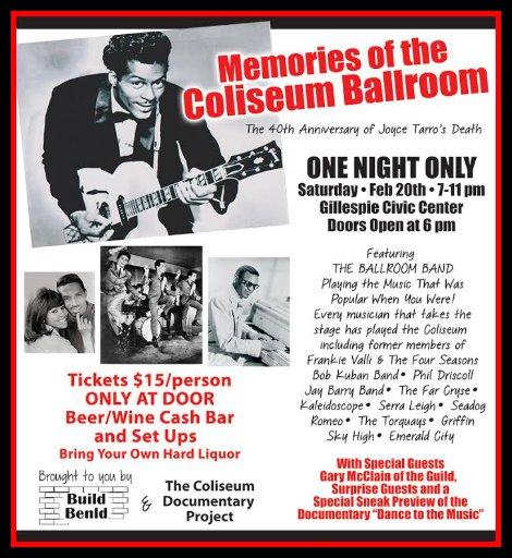 Coliseum Memories 2-20-16