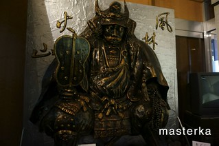 宝物館の中の武田神社