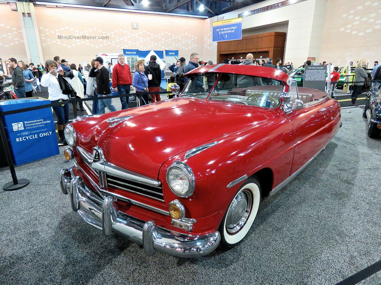 Philly Auto Show 2016 Hudson Convertible