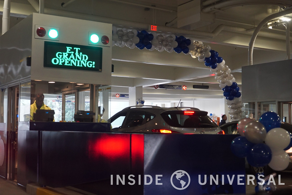 Universal Studios Hollywood Opens New E T Parking
