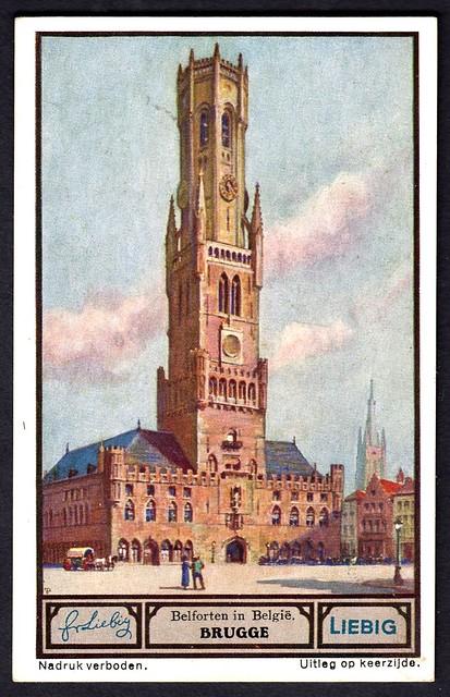 Liebig Tradecard S1330 - Brugge (Bruges)
