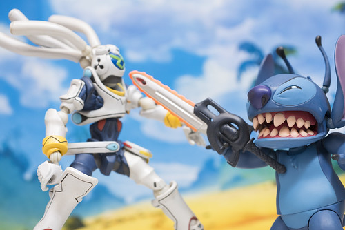 MOVIE REVO Stitch vs King Gainer