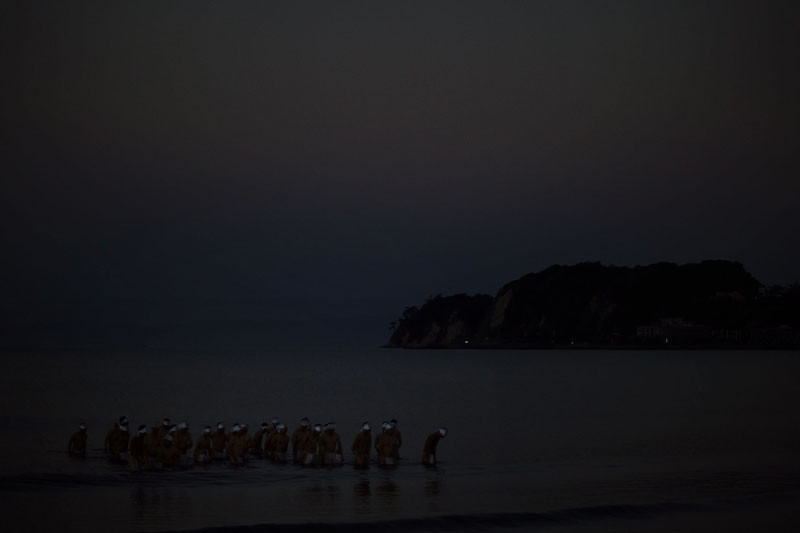 鶴岡八幡宮例大祭 浜降式の写真