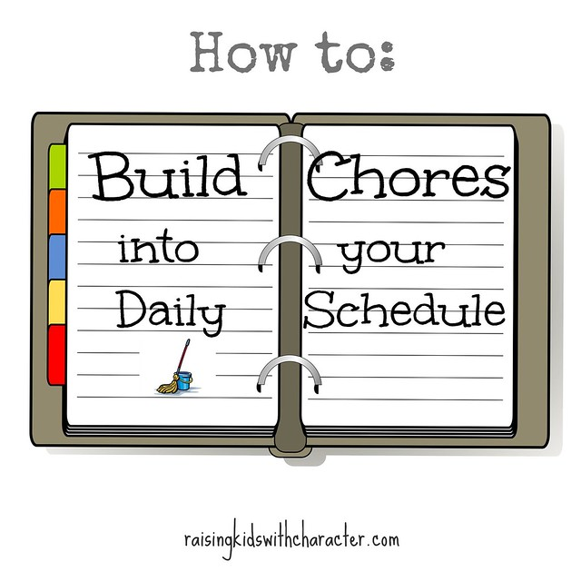How to Build Chores Into Your Daily Schedule