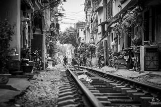Hanoi rail&street