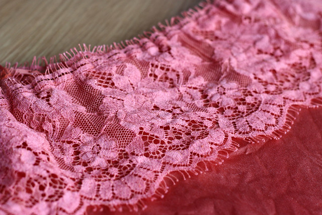 British Cluny Lace & Silk Savannah Camisole