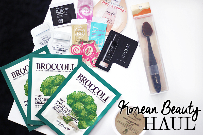 Korean Beauty Haul (eBay)