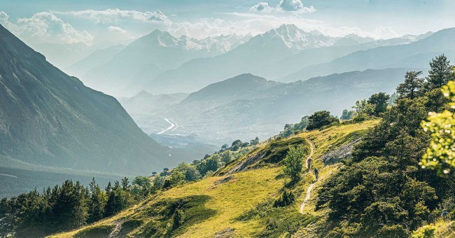 Outdoor na trase Grand Tour of Switzerland