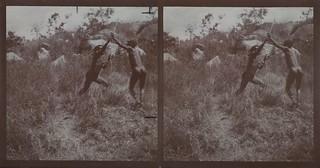 Katambo and Maasai Warrior Djogona are fighting.