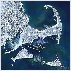 Baby, it's cold outside.  #CapeCod #Nantucket #MarthasVineyard #ElizabethIslands #FarOut from #OuterSpace #NASA #InternationalSpaceCenter #SatelliteOfLove #SnowScape #MVwinter #NOfilter #NewEngland #Photography #VisitMA #VisitMV #VisitACK #VisitCapeCod #W
