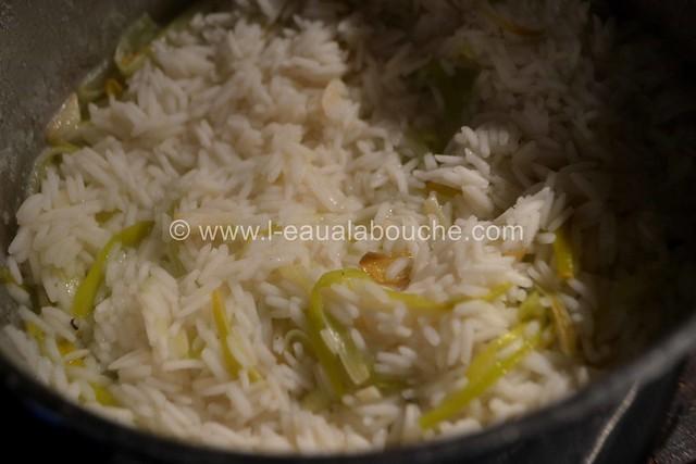 Boulettes de Viande au Curry Rouge Riz aux Poireaux © Ana Luthi Tous droits réservés 12
