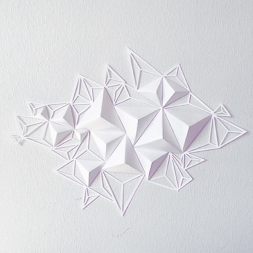 Paper Sculpture with Paper Cutting