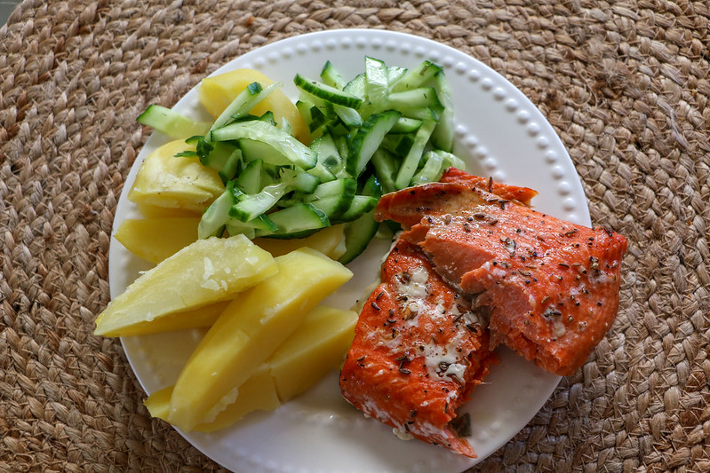 01.23. Salmon with Potatoes