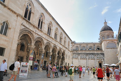 Dubrovnik. Rector's Palace and Cathedral