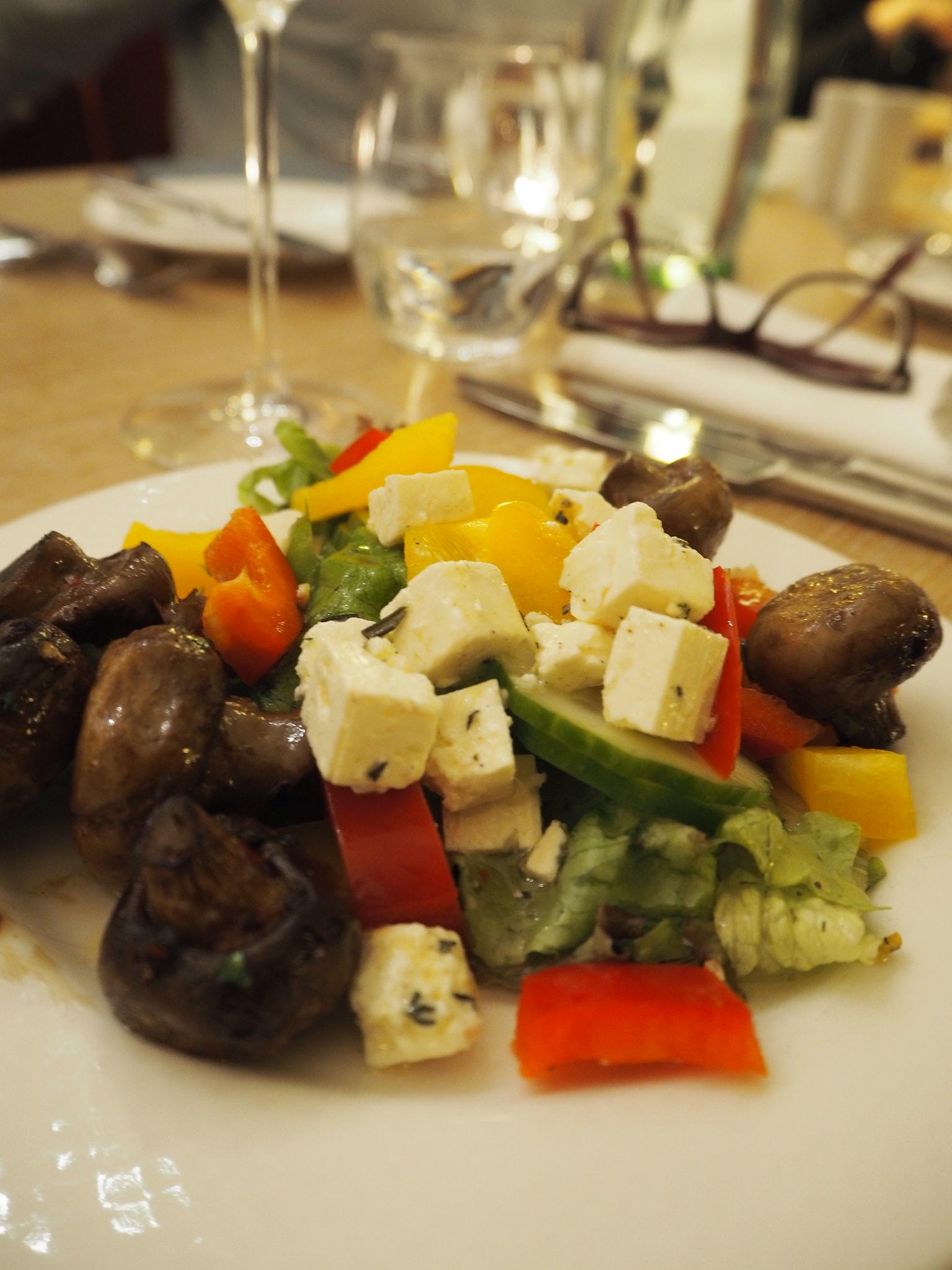 Salatteller, Radisson Blu Frankfurt
