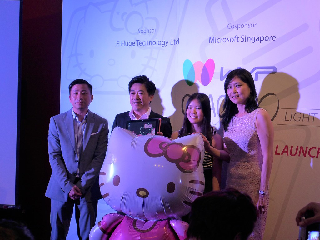 bda92895a You're gonna love the latest gadget from Microsoft SG - the uber cute limited  edition Hello Kitty Grace 10 Light Tablet ($379).