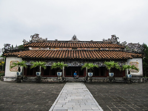 La Citadelle de Hué: le Temple Hung Tô Mieu