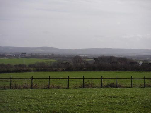 Chiltern Views from farm NE of Long Crendon