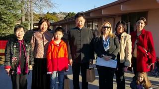 February 02 '16 Goodwill Abassador Shawn Li Presents Chinese Tea Ceremony at Barnard