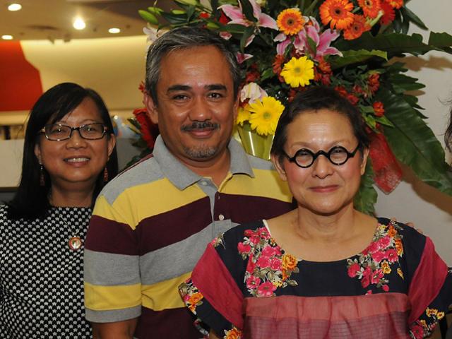 Karina Bolasco, Ige Ramos and Patis Tesoro