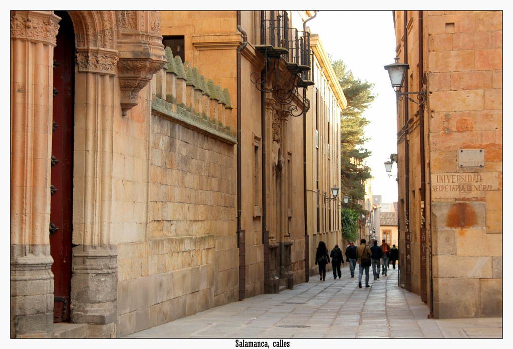 Salamanca calles y detalles