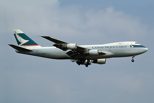 Cathay Pacific Airways Cargo Boeing 747-2L5B(SF) B-HME