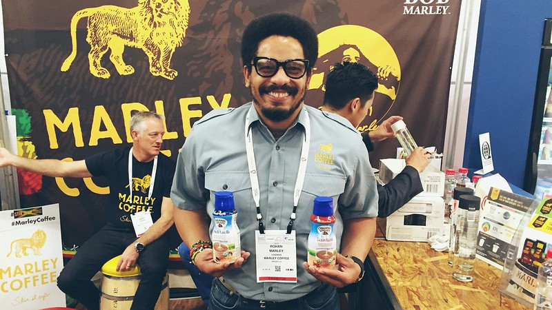 oh nothing, just hanging out with rohan marley!