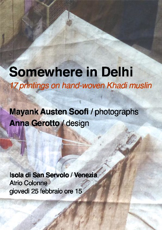 City Notice - Somewhere in Delhi, An Exhibition in Venice