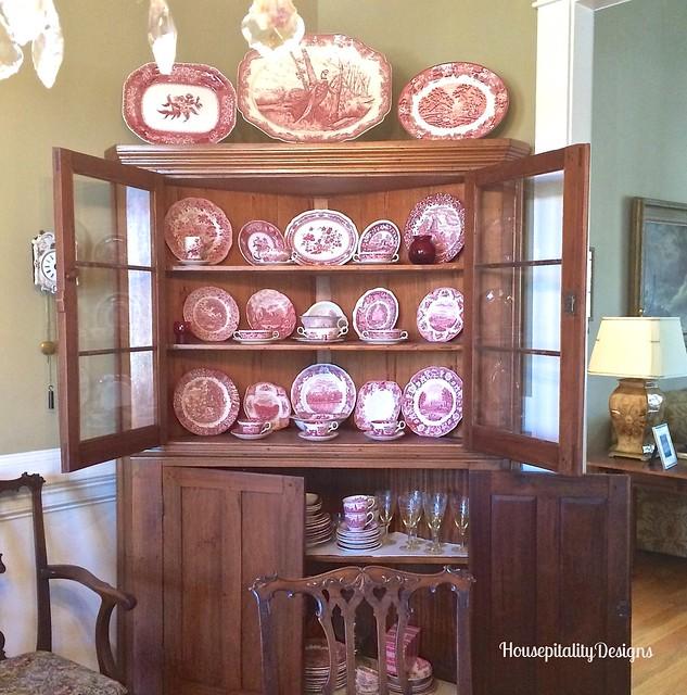 Antique Corner Cupboard - HousepitalityDesigns