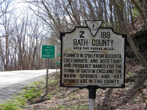 Bath/Highland County Line