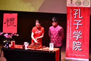 March 08 '16 CISDSU Hosts Tea Ceremony at SDSU Campus Life Event