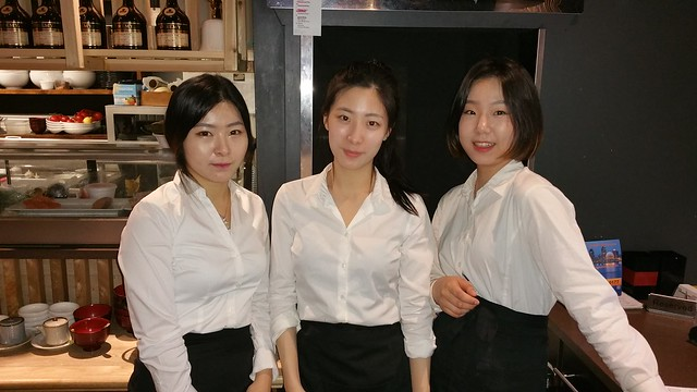 2016-Mar-9 Kosoo - the friendly afternoon shift servers